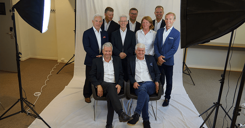 Photoshoot med Marshmallow Group på Thon Hotel Slottsparken