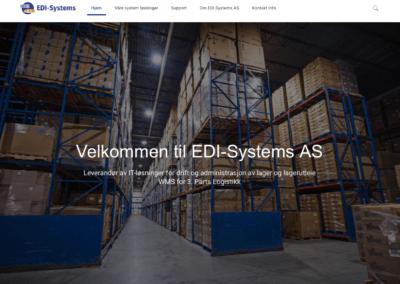 Nettside for EDI Systems AS