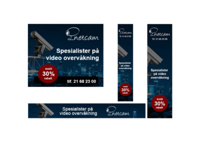 Netcam Display banner