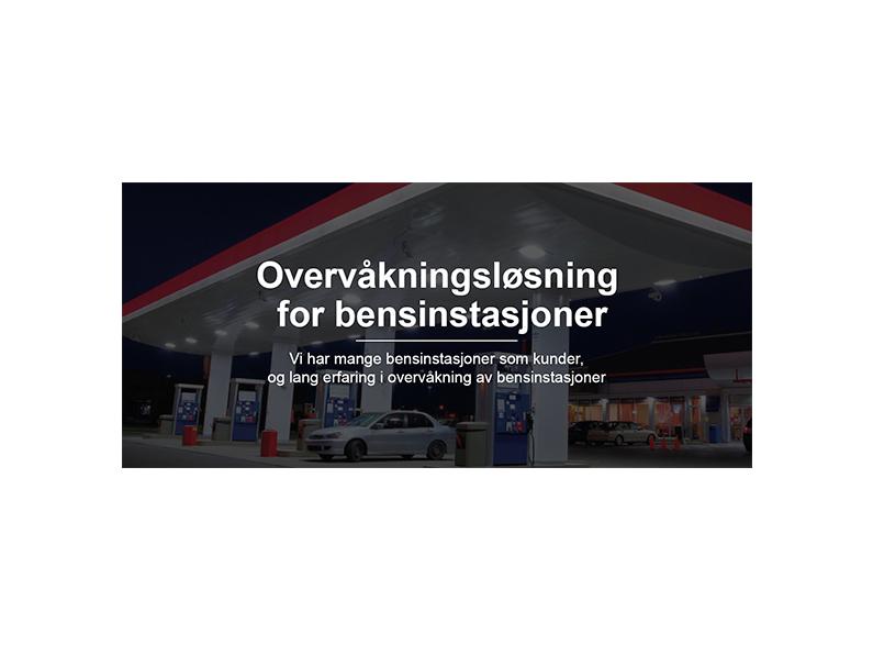 Overvåkningsløsning for bensinstasjoner