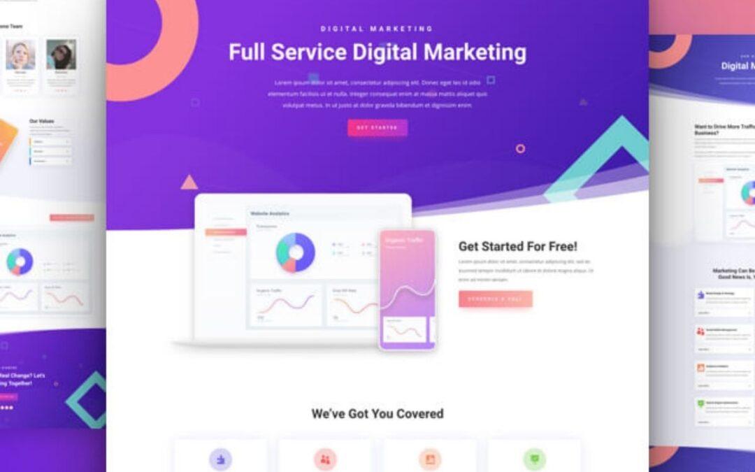 Webdesign med Divi